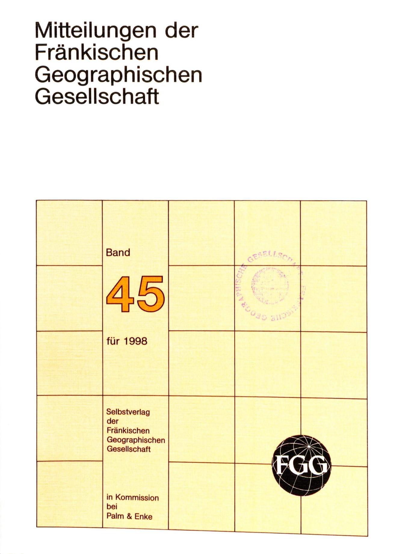 FGG Band 45