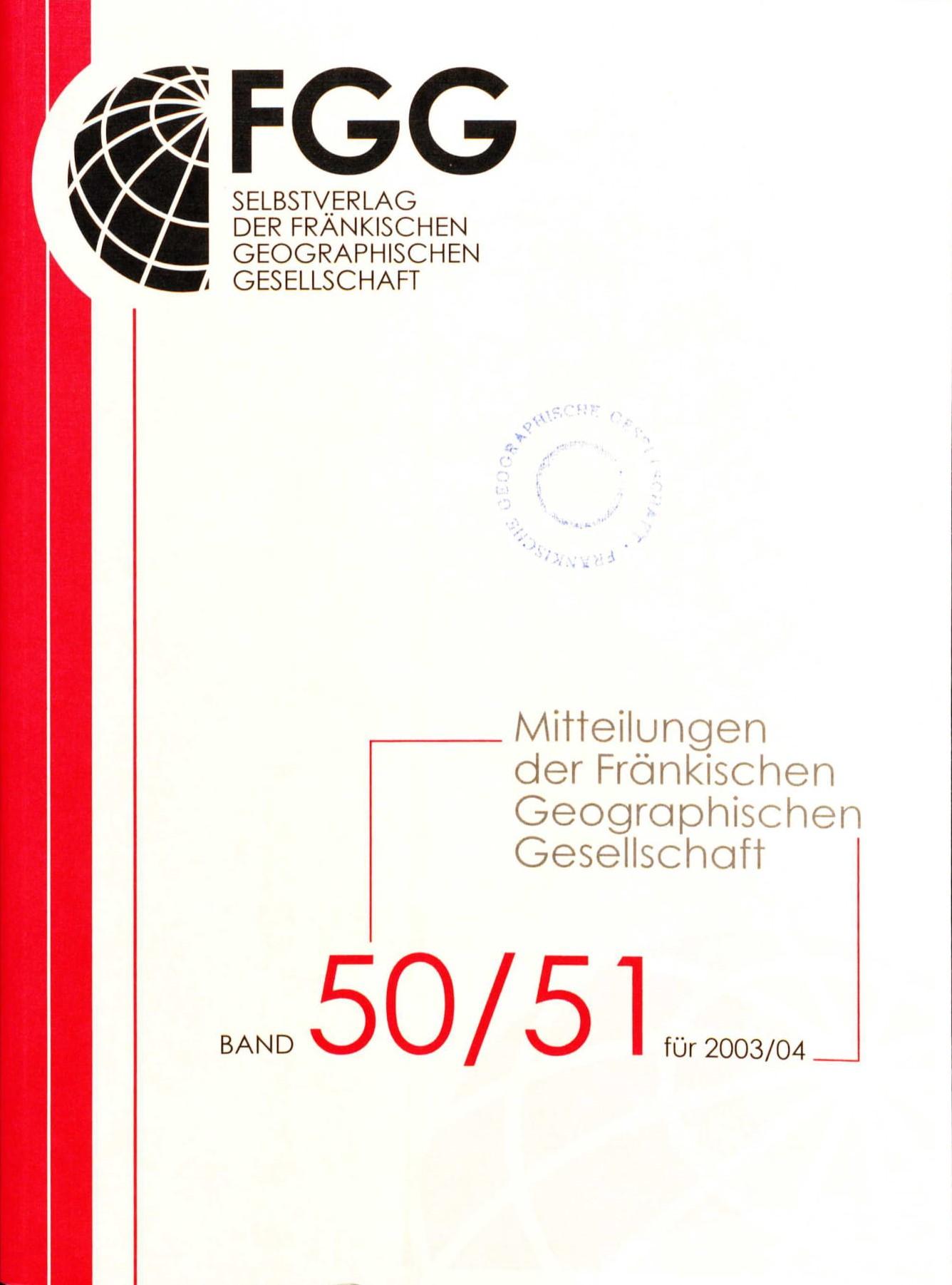Band 50/51 für 2003/04
